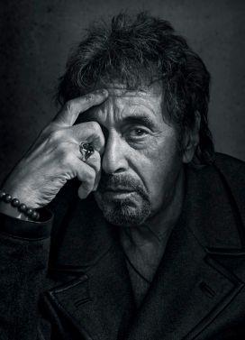 Pacino, newyorker, by Dan Winters